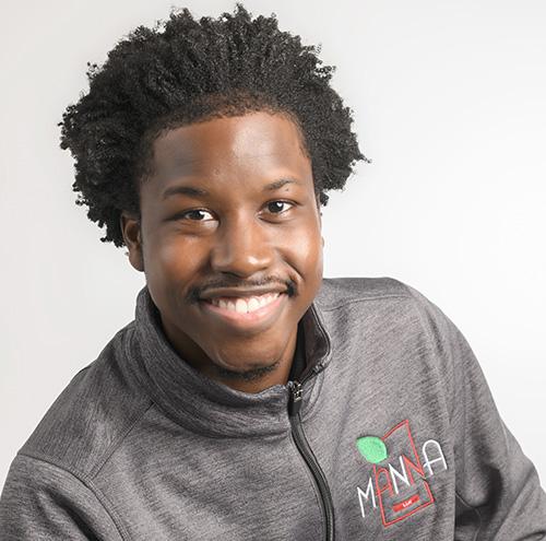 Guy smiling in photo